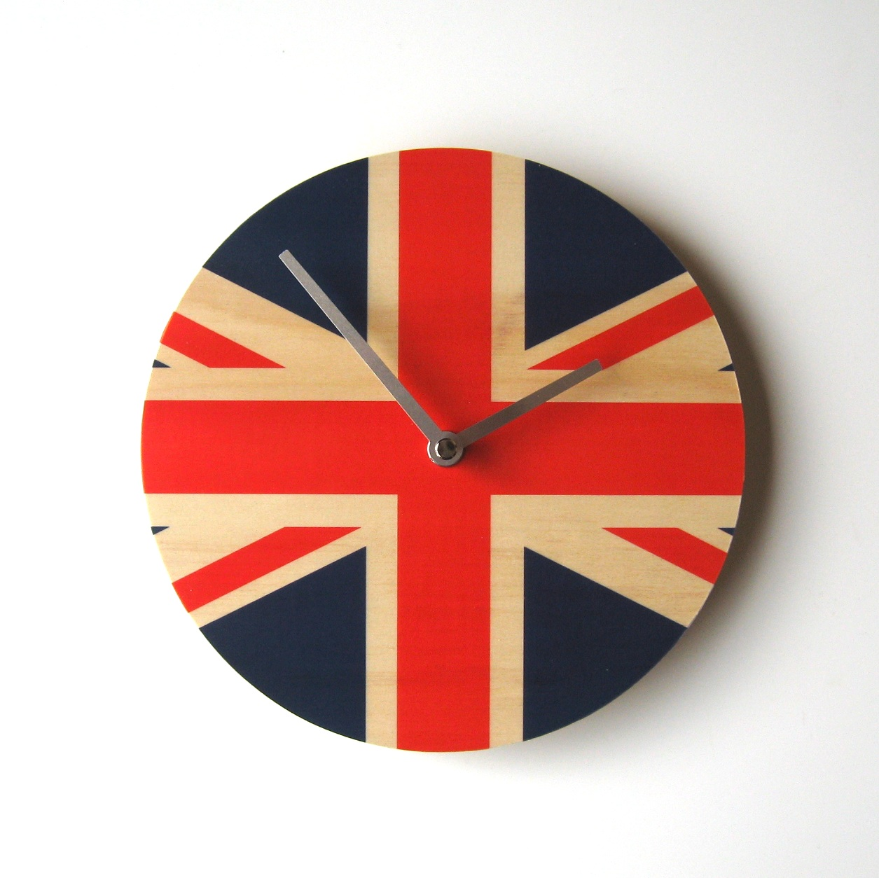 Union jack wall clock 12000 wall clocks union jack wall clock amipublicfo Images